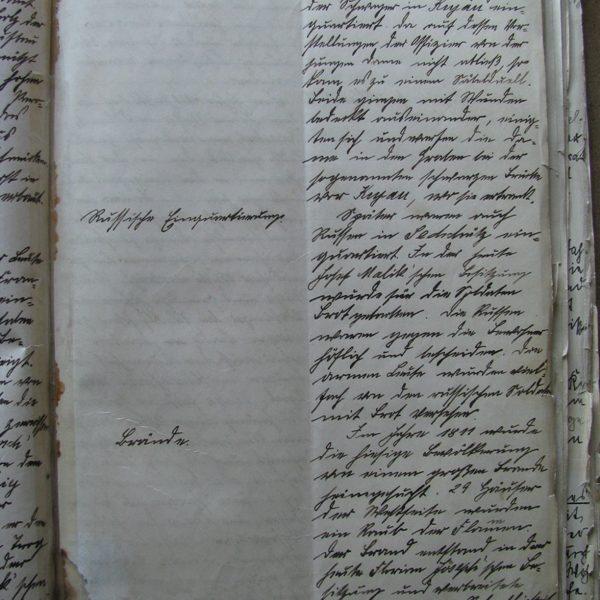 Opis wojen napoleońskich i pożarów z początku XIX w.