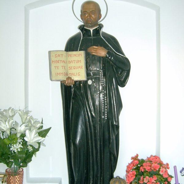 Figura św. Franciszka Borgiasza, październik 2007 r.