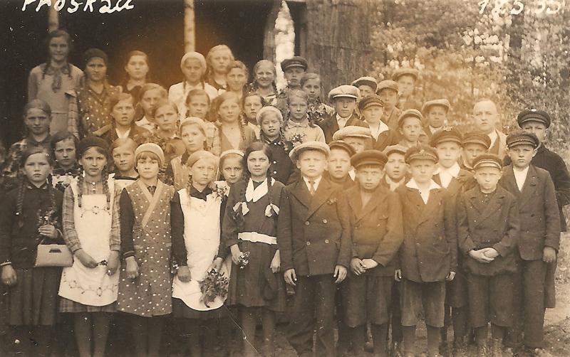 Na wycieczce w Prószkowie, 18.05.1935 r. [Zbiory prywatne: rodzina Biskup, Niemcy]