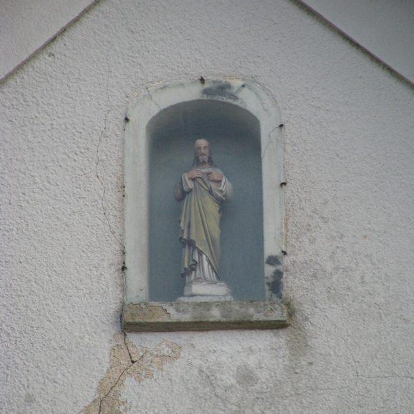 Figurka Jezusa Chrystusa, listopad 2009 r.