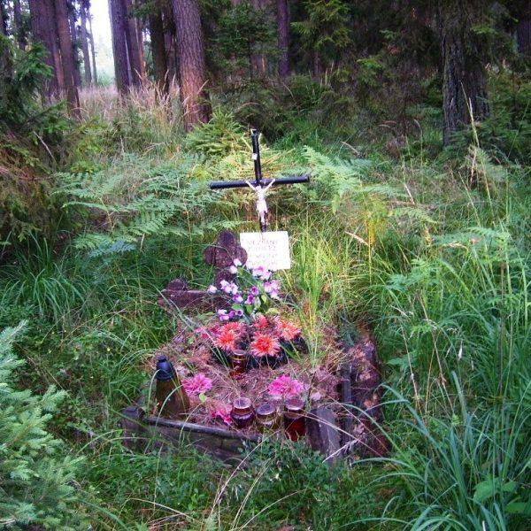 Fotografia grobu z lipca 2007 r.