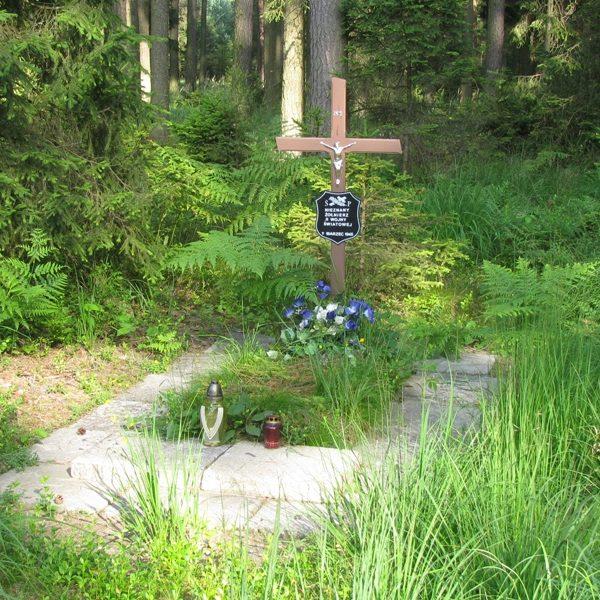 Fotografia grobu z lipca 2013 r.