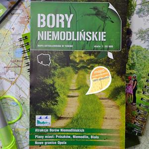 Nowa edycja mapy Borów Niemodlińskich