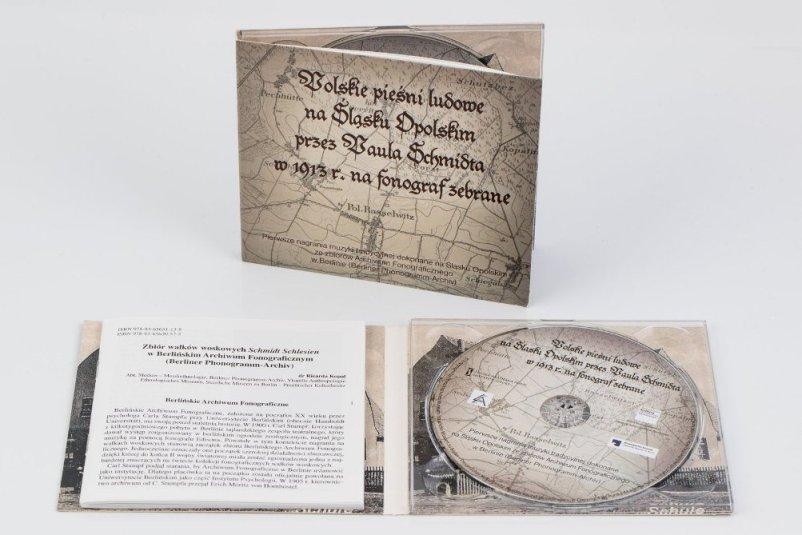 Polskie pieśni ludowe na Śląsku Opolskim przez Paula Schmidta w 1913 r. na fonograf zebrane